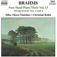Brahms: Four-Hand Piano Music, Vol. 13