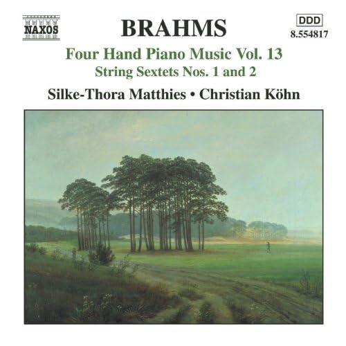 Brahms: Four-Hand Piano Music, Vol. 13