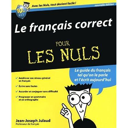 Le Français correct, 2e pour les Nuls