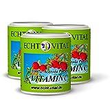 100% reines Acerola Kirsche Pulver - ECHT VITAL VITAMIN C - 3 Dosen = 300g ohne Zusatzstoffe