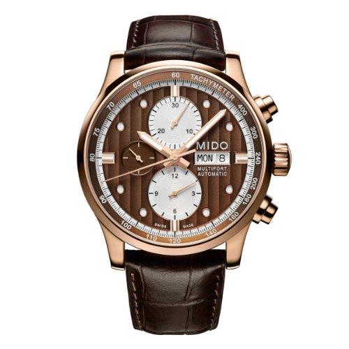 mido-herren-armbanduhr-xl-multifort-chronograph-automatik-leder-m0056143629119