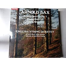 BAX, Arnold: String Quartet nr.1; Piano Quartet; Harp Quintet -- CHANDOS (1984)English String Quartet, McCabe J. (pf), Kanga S. (harp)-CHA ABRD 1113-Vinyl LP-CHANDOS - Inghilterra-BAX Arnold Sir. (Inghilterra)-KANGA Skaila (arpa); McCABE John (pianoforte)