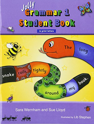 Jolly Grammar 1 Student Book (in Print Letters) por Sue Lloyd