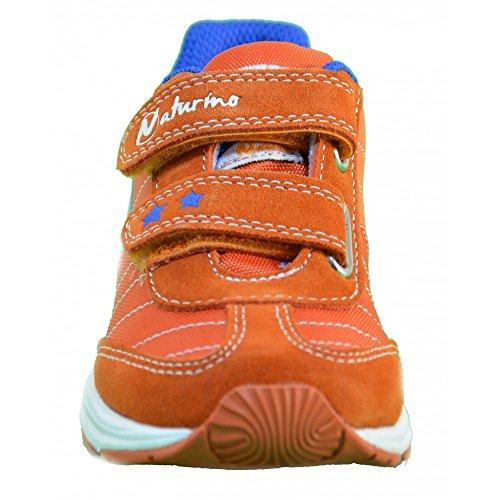 Naturino - Naturino Scarpe Bambino Arancio Pelle Tela 423 Orange