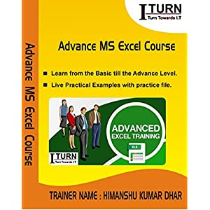 Advance MS Excel DVD Tutorial