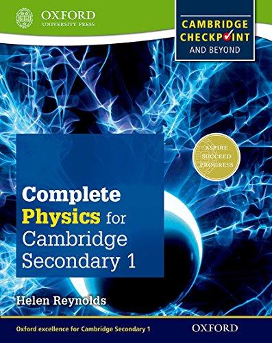 Complete physics for Cambridge IGCSE secondary 1. Checkpoint-Student's book. Per la Scuola media. Con espansione online (Checkpoint Science)
