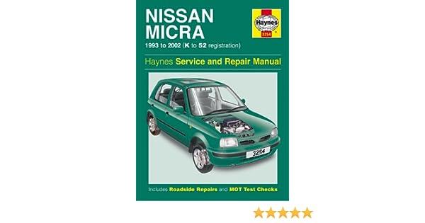 nissan micra repair manual haynes manual service manual workshop rh amazon co uk 86 Nissan Truck Repair Manual 06 Nissan Altima Repair Manual
