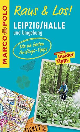 MARCO POLO Raus & Los! Leipzig/Halle und Umgebung: Das Package für unterwegs: Der Erlebnisführer mit großer Erlebniskarte