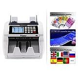 Aibecy Geldzählmaschine Cash Money Geldscheine mit LCD Bildschirm,...