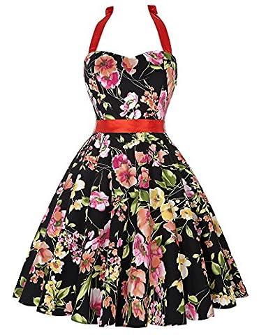 Classic Vintage Dresses for Women Short Prom Dress Size S