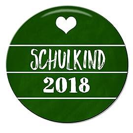 Polarkind-Button-Pin-Anstecker-Schulkind-2018-zum-Schulanfang-38mm-handmade