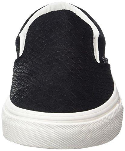 Vans Classic Slip-On- Sneaker Unisex Adulto Nero (Snake)