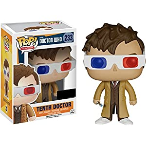 Figura POP Doctor Who 10th Doctor with 3D glasses Exclusive