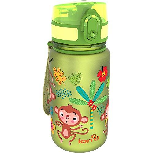 Botella de agua para niños Ion8 a prueba de fugas, con imágenes...