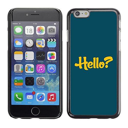 Graphic4You Dont Settle Love Englisch Zitat Nachricht Harte Hülle Case Tasche Schutzhülle für Apple iPhone 6 / 6S Design #12