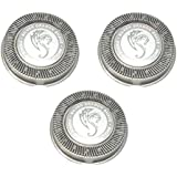 HQ56 HQ55 HQ4 HQ3 Replacement Heads Set Of 3 Dual Precision Silver Dragon Universal Cooling Surface Blades For...