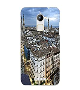 COOLPAD NOTE 3 LITE CITY VIEW Back Cover by PRINTSWAG