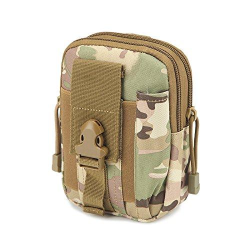 Outdoor, Athletisch, Taktische Camo, Tragbare, Bergsteigen, Taille - Tasche CP camouflage