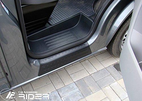 Türschwellerschutz für T5 Bus Caravelle Multivan Pritsche schwarz