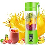 Happenwell Fruit Juicer | Plastic Portable USB Electric Blender Juice Cup - Juice Blender Smoothie Maker Fruit Juicer Bottle(Multicolour)