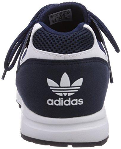 adidas Racer Lite, Senakers a Collo Basso, Unisex Blu (Collegiate Navy/Footwear White/Core Black)