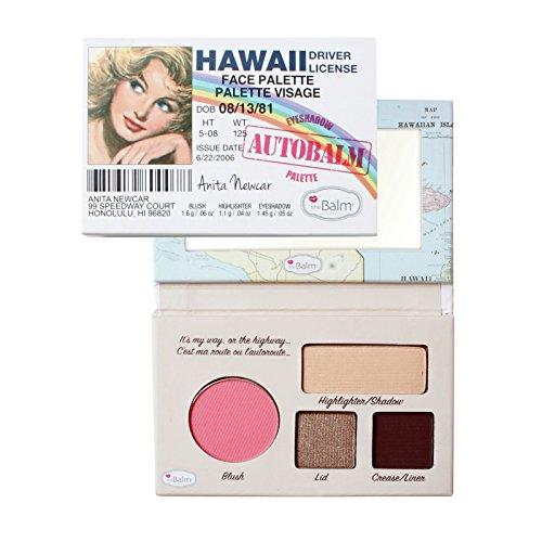 THEBALM Palette de Maquillage Autobalm Hawaii, 4,15 g