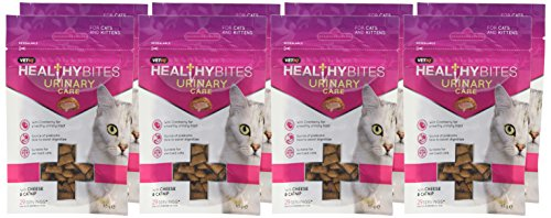 VetIQ Healthy Bites Urinary Care For Cats & Kittens 65g - Pack of 8 2