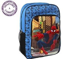 Atosa 16971-Mochila Spiderman, 40x 27x 10cm