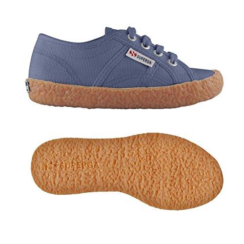 Superga Babys 2750-Naked Cotj Schuhe Blue Velvet