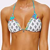 Banana Moon Beige Bikini-Top Triangel Teens Olivia Chou