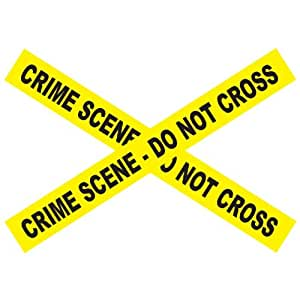 Crime Scene - Do Not Cross Barricade Tape