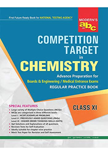 Modern abc of Competition Target in Chemistry XI (English Edition)