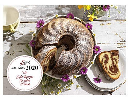 Süße Rezepte für jeden Monat 2020: Servus Kalender