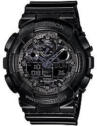 G-Shock World time Analog-Digital Black Dial Men's Watch - GA-100CF-1ADR (G520)