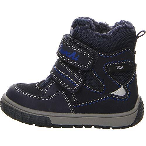 Lurchi Jungen Jaufen-TEX-S Boots Tex-Schuh Größe 23 EU Blau (blau)
