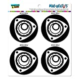 Graphics and More Rotary Rotor Motor RX-7 RX-8 MAG-Neato 's-TM Automotive Car Kühlschrank Locker Vinyl Magnet Set