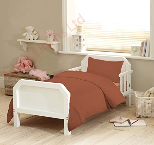 Sky Blue Love2Sleep 100/% Egyptian Cotton COT Bed Duvet Cover 120 X 150 cm /& Pillowcase Set