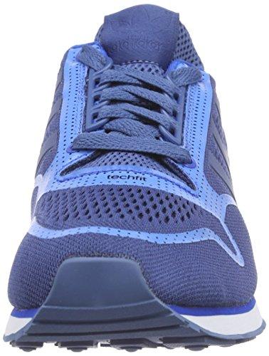 Adidas - Zx 500 Techfit, Sneakers da uomo Blu (ash blue s15-st/bluebird/ftwr white)