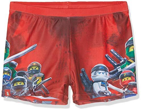 Lego Wear Jungen Lego Boy Ninjago CM-50201-BADEHOSE Badehose, Rot (Red 359), Herstellergröße: 140