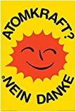 Atomkraft - Nein Danke - OOA Logo - Poster OOA Logo -
