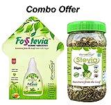 Zindagi Stevia Leaves & Stevia Liquid Extract-Natural & Best Substitute Of Sugar-Best Stevia