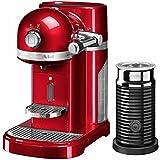 KitchenAid 5kes0504ca/1Artisan Nespresso Incluye Aeroccino espumador de leche, color rojo