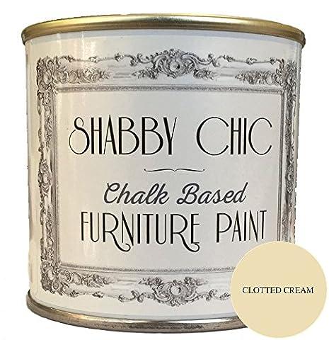 Shabby Chic Furniture Paint Peinture pour meubles, couleur crème caillée