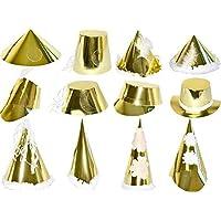 HAT DESIGN LARGE GOLD ALL (50)