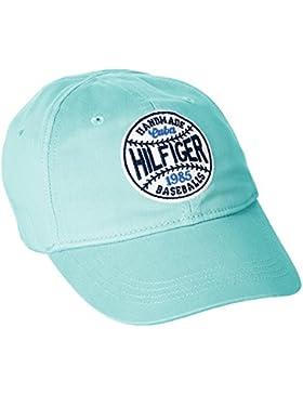 Tommy Hilfiger Badge Cap, Gorra para Niñas
