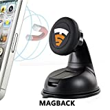 #1: Tech Sense Lab® MagBack Car Mobile Holder ✔ Universal Magnetic Mobile Mount for Mobiles, Smartphones and Mini Tablets, - 100% Satisfaction Guaranteed ✔
