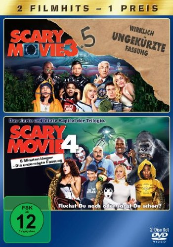 Scary Movie 3.5 / Scary Movie 4 [2 DVDs]