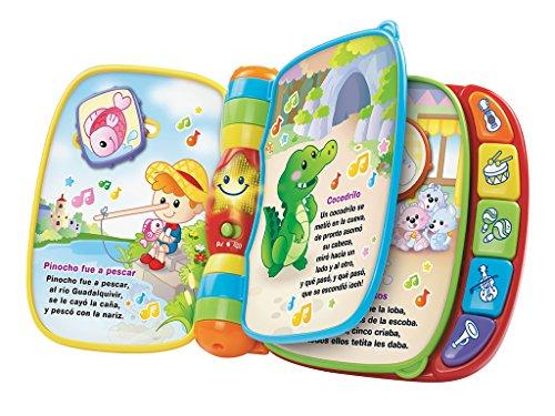 VTECH BABY   PRIMERAS CANCIONES  LIBRO MUSICAL  MULTICOLOR (3480 166722)