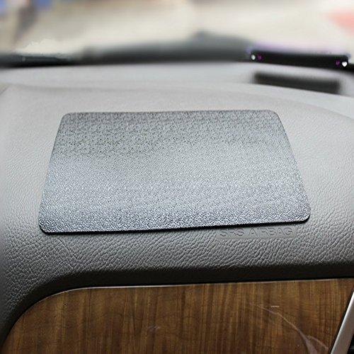 Haosen Auto antirutschmatte Große Antislip Matte PU antirutschmatte Für handy /Gps/ Mp4/ Mp3 - 27x15cm Ultra-viskos 180 Grad (Lederlinien)