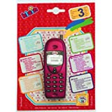 Theo Klein 4920 Mobile Phone with Realistic Functions-Assorted colors